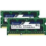 Timetec Hynix IC 8GB(2x4GB) ノートPC用メモリ DDR3L 1600 MHz PC3 12800 1.35v 204 Pin SODIMM Laptop memory upgrade 永久保証 (8GB(2x4GB))