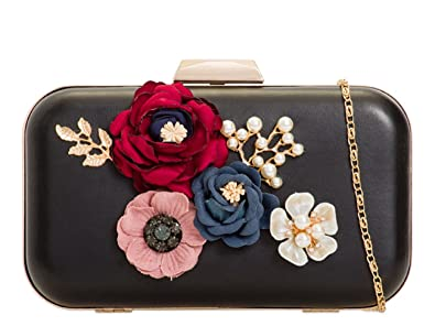 LeahWard Women/'s Clutch Bag Floral Wedding Handbags Evening Purse Party Prom
