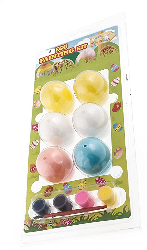 Easter Egg Painting Kit 6 Eggs