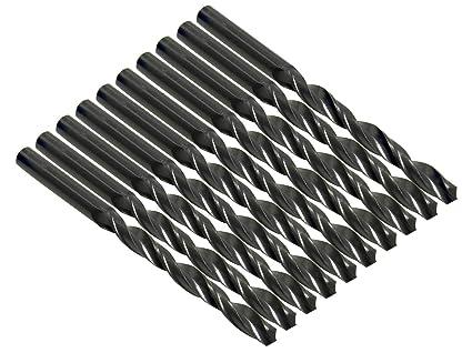 10x HSS Metallbohrer von 0,3 bis 6,0 mm Bohrer Spiralbohrer NEU