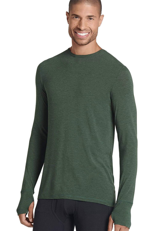 Jockey Mens T-Shirts Thermocore Long Sleeve Crew