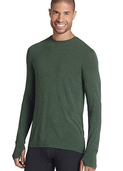 218f31867 Jockey Men's T-Shirts Thermocore Long Sleeve Crew at Amazon Men's ...