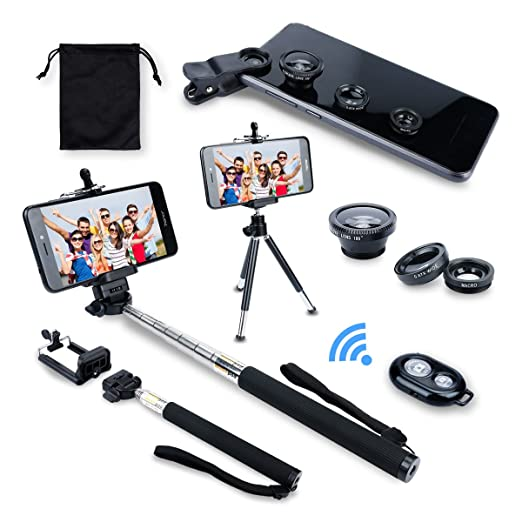 24 opinioni per AFAITH® Kit 6in1 per Samsung Galaxy S5 / S4 / S3 iPhone 5S / 5C / 5 / 4S Samsung