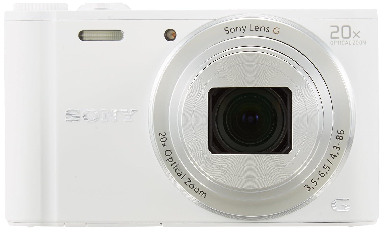 Amazon.com : Sony DSCWX350 18 MP Digital Camera (White) : Camera ...
