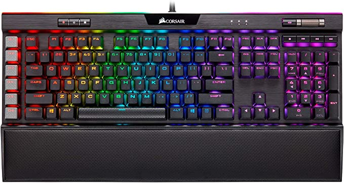 CORSAIR K95 RGB Platinum XT Mechanical Gaming Keyboard, Backlit RGB LED, Cherry MX Speed RGB Silver, Black: Keyboards: Amazon.com.au