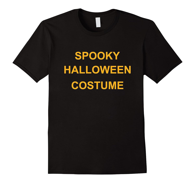 Ironic Spooky Halloween Costume T Shirt-FL