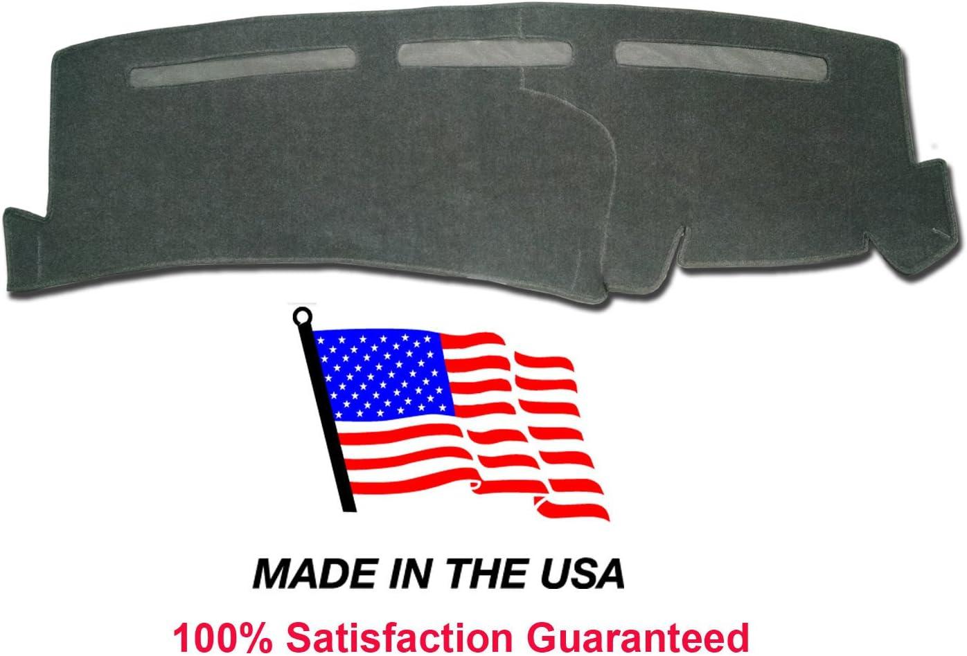 1997-1999 Chevy Suburban Dash Cover Mat Pad Carpet CH75 black