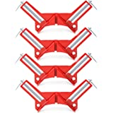 """4 pcs 90 Degree Right Angle Miter Corner Clamp 3"""" capacity Picture Frame Holder Woodwork"""