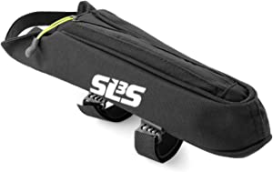 SLS3 Top Tube AERO Bag Small | Bicycle Fuel Bags | Triathlon Pouch | Bike Bags Frame | Stable and Secure Phone Bags | Small Low Profile Bike Stem Frame Bag