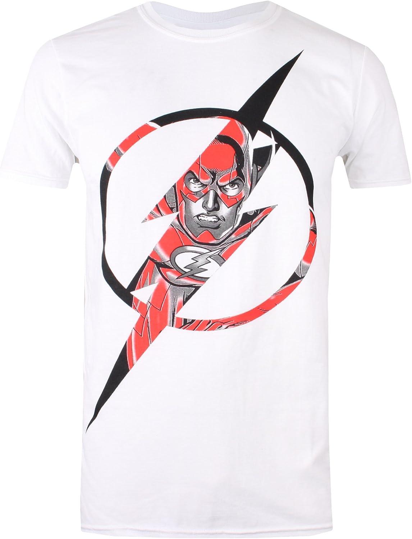 DC Comics Flash Icon T-Shirt Uomo