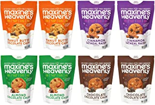 product image for Maxine's Heavenly - Plant Based, Gluten Free, Low Sugar Cookies - Variety Eight Pack—7.2 ounces each (8 Pack)