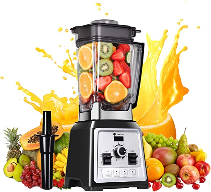 Blender for Shakes and Smoothies,1450W Professional Smoothie Blender Built-in Pulse 10-speeds Control& 4 pre-programmed,Smoothie Maker for Puree, Ice Crush, Shakes and Smoothies,Self-Cleaning,68 Oz Container,32000 RPM
