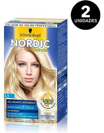 Nordic Blonde de Schwarzkopf - Tono L1 Aclarante Intensivo - 2 uds - Coloración Permanente