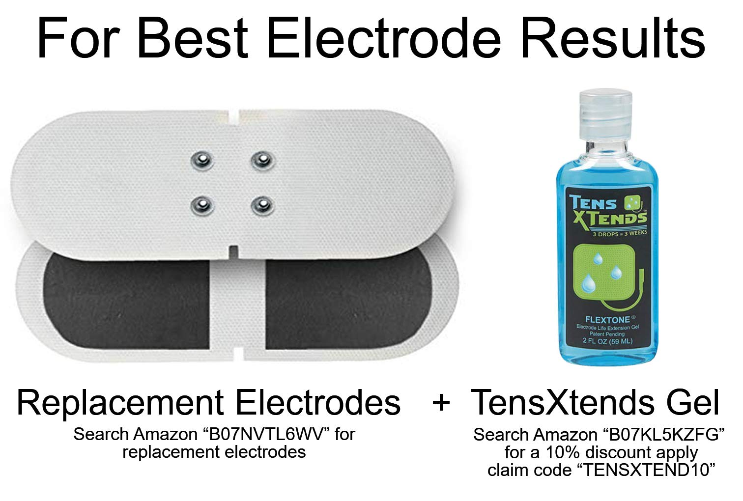 FlexHeat Tens EMS Unit with Heat - FDA 510K Cleared ...