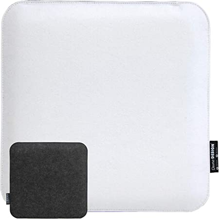 cuscino bianco sottile sedia