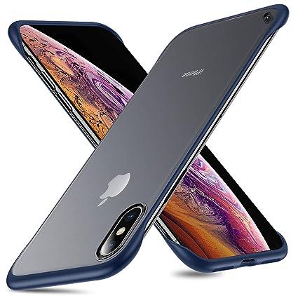 Amazon.com: MSVII - Carcasa para iPhone Xs Max, delgada y ...