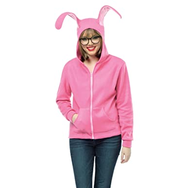 Amazon.com: A Christmas Story Bunny Hoodie-Small / Medium: Clothing