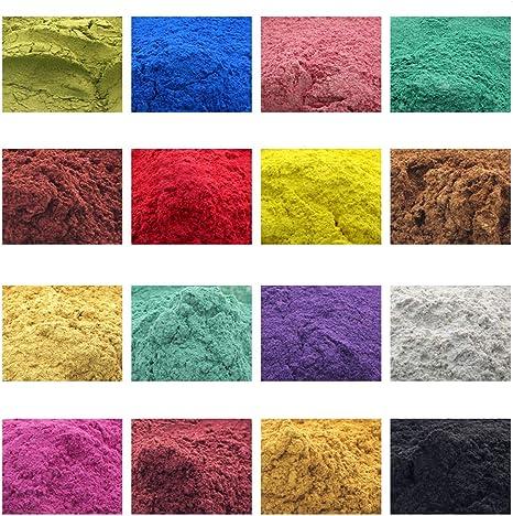 Grado de Cosméticos Jabón Natural De Mica Pigmento en Polvo colorante colorante crapemyrtle Vela