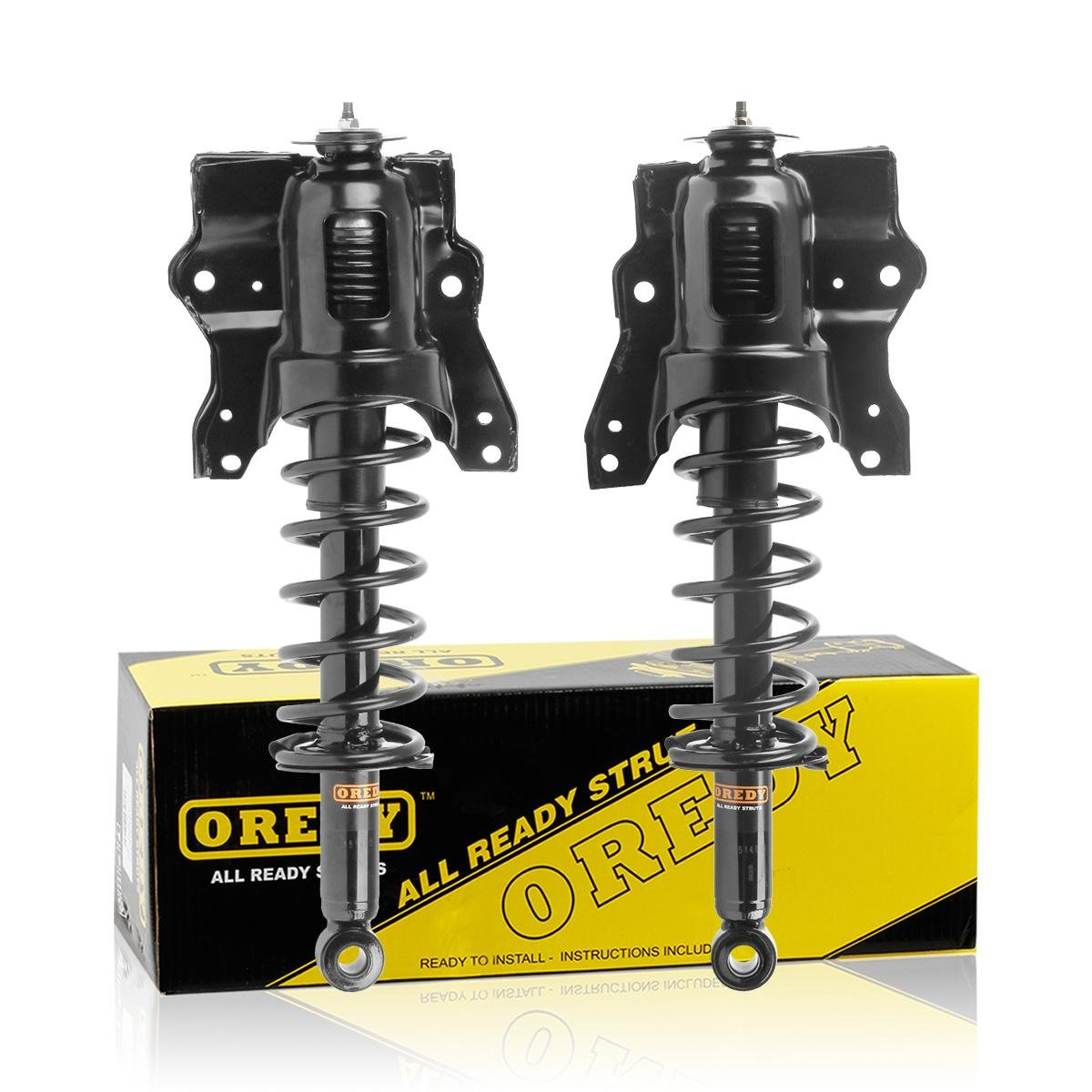 Front Quick Complete Struts /& Coil Springs with Mounts for 2001-2006 Kia Optima