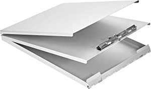 "AmazonBasics Aluminum Storage Clipboard - 12.5"" x 9"", Form Holder"