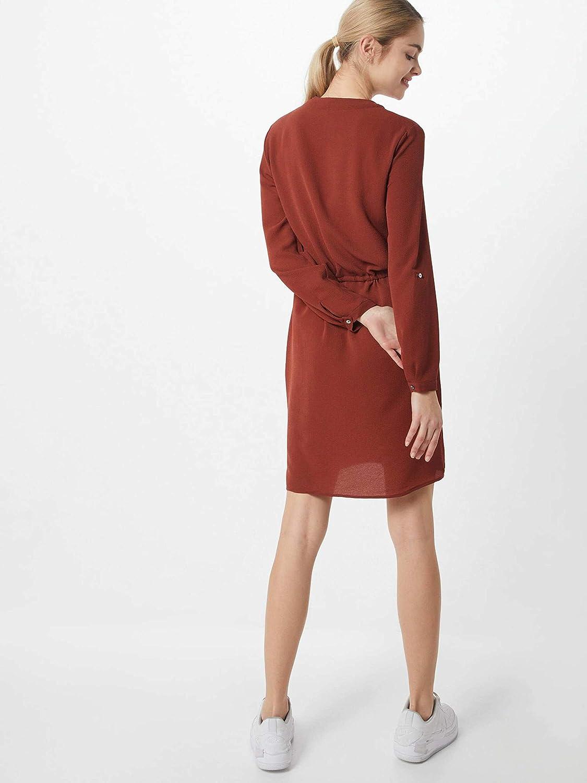 ONLY Damen Onlwinnervertigo L//S Dress WVN Kleid