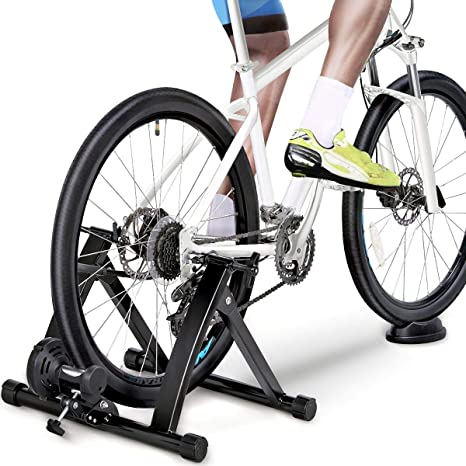 Yaheetech Rodillo de Bicicleta Rodillo de Entrenamiento Soporte de Bicicleta 26 a 28 : Amazon.es: Deportes y aire libre
