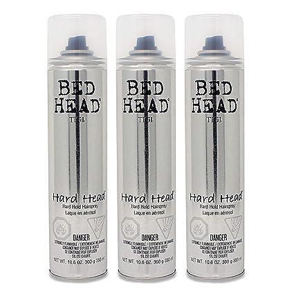 ampia scelta di colori e disegni vendita limitata cercare TIGI BED HEAD HARD HEAD HAIR SPRAY 385ML X 3 - EXTRA FIRM HOLD HAIRSPRAY +  TRACK