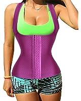 Sweat Vest Fashion Sauna Suit Waist Trainer Vest for Fitness Exercise