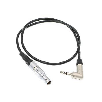 Amazon com: Uonecn Alexa Mini Timecode Cable 5 pin Male to