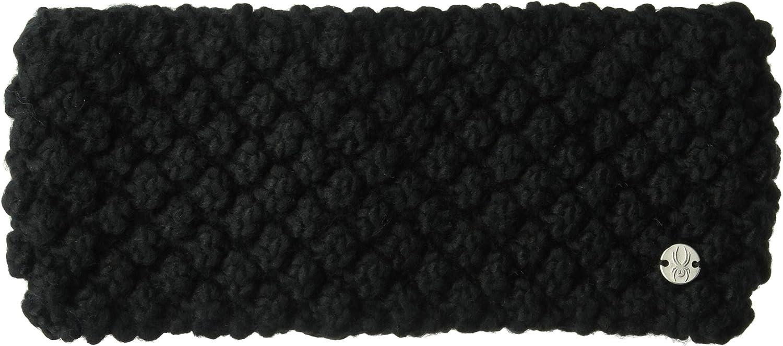 Spyder Women's Brrr Berry Headband, Black/Black, One Size
