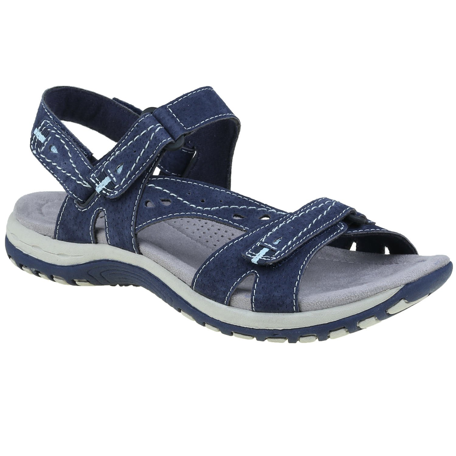 Earth Origins Women's Sophie Sandals B018QTPI62 10 B(M) US|Navy Blue