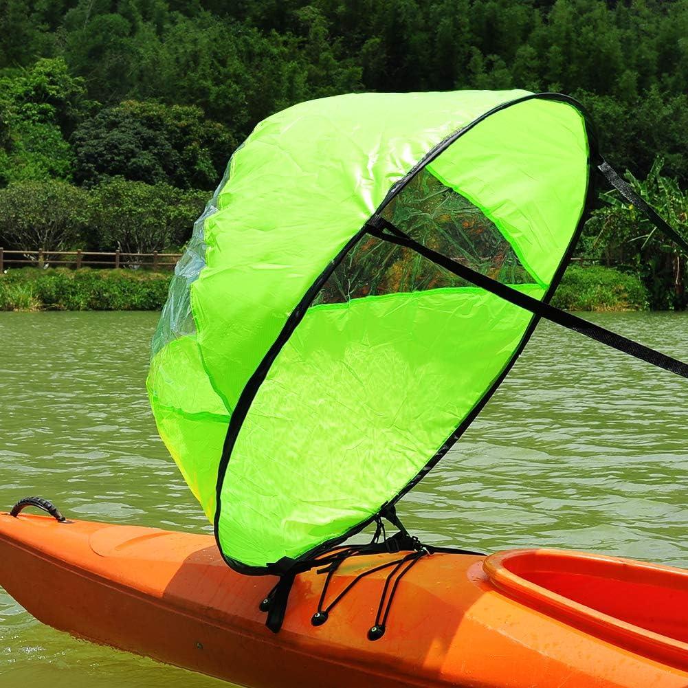 Amazon.com: RENHAIGY Tandem - Kit de velas de kayak para el ...