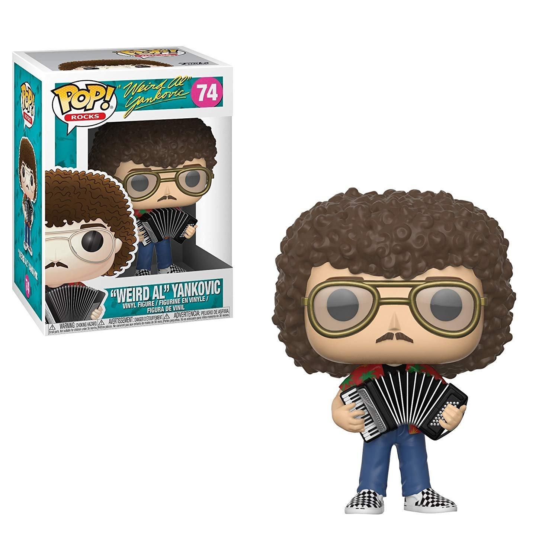 11605f71792 Amazon.com  Funko POP!  Rocks Weird Al Yankovic Collectible Figure ...