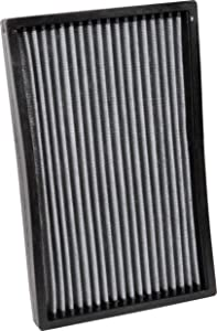 K&N Premium Cabin Air Filter: High Performance, Washable, Lasts for the Life of your Vehicle: Designed for Select 2005-2018 CHEVY/CADILLAC (Corvette, Corvette Z06, Corvette ZR1, XLR), VF3018