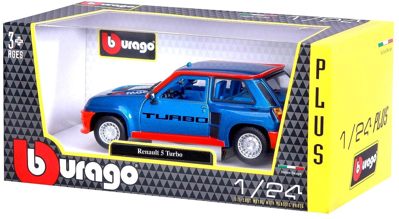 Bburago Coche Metal Renault 5 Turbo Color Rojo Escala 1:24, roja (15621088BL): Amazon.es: Juguetes y juegos