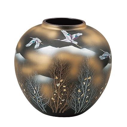 Amazon Kutani Yakiware Vase Gold Clouds Home Kitchen