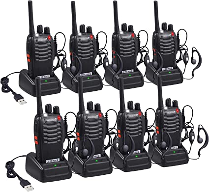 Amazon.com: Proster Walkie Talkies - Radios recargables de ...