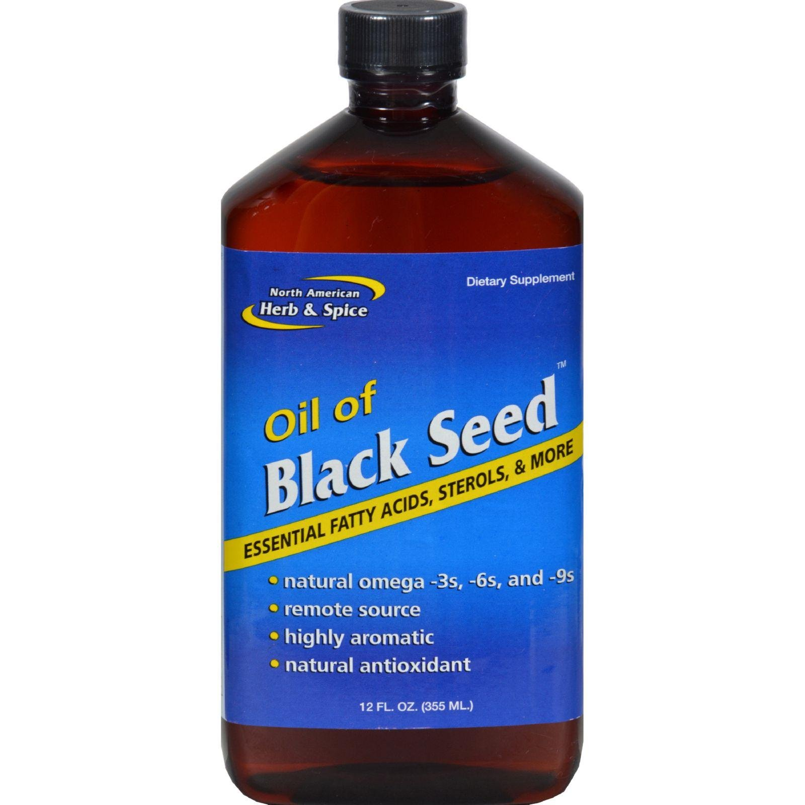 North American Herb & Spice, Black Seed Oil, 12 Fl Oz