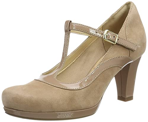 Clarks Femme chorus bombay cuir marine | chaussures [Clarks