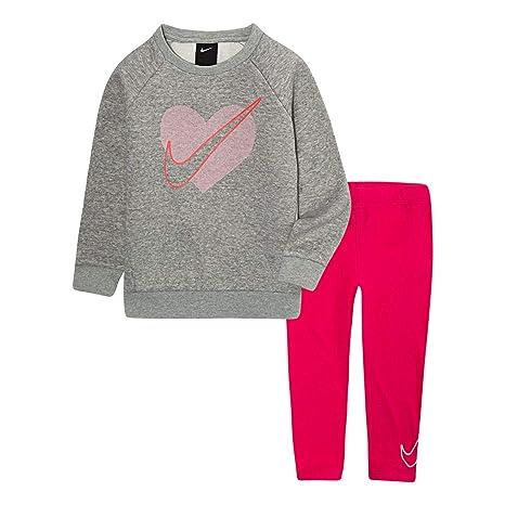 NIKE Dark Grey Hoodie and Sweatpants Set