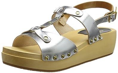 71f131a04646 Swedish Hasbeens Women s Rivet Sandal Clogs  Amazon.co.uk  Shoes   Bags