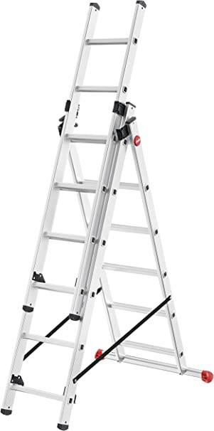 Hailo 7306 – 007 profesional Step, peldaños: 3 x 6: Amazon.es: Bricolaje y herramientas