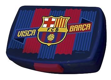 CYP Imports LB-42-BC Sandwichera Fiambrera, diseño Futbol Club Barcelona, 0, Blaugrana, 0 cm: Amazon.es: Hogar