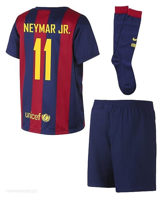 Amazon.com: Neymar Jr. # 11 Nike FC Barcelona bebé Home Mini ...