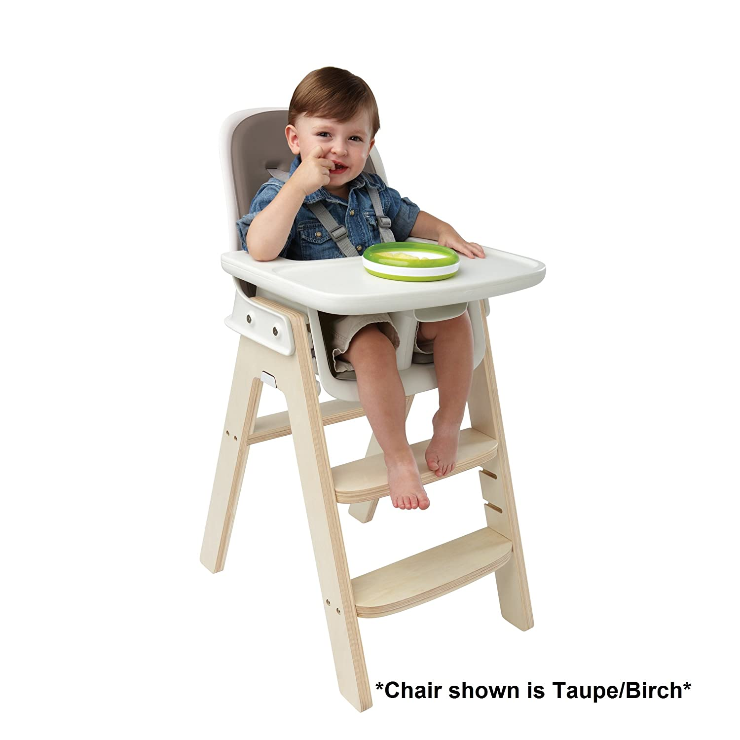 Amazon OXO Tot Sprout High Chair Gray White Baby