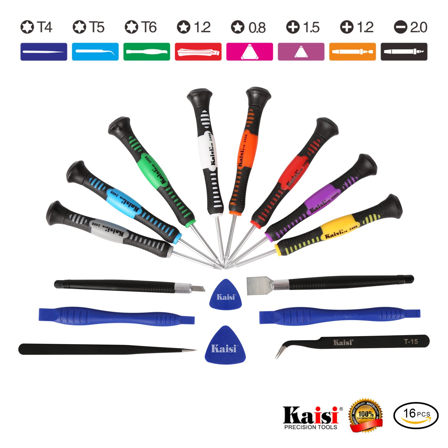 amazon com kaisi 16 piece precision screwdriver set repair tool