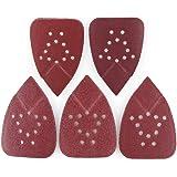 Sanding Pads for Black and Decker Mouse Sanders by LotFancy, 50PCS 60 80 120 150 220 Grit Sandpaper Assortment - 12 Hole Hook