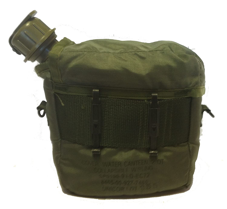 Amazon.com: OD Verde Militar problema New 2 Quart Canteen ...