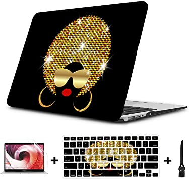 MacBook Pro13 Inch Case Small Objects Beauty Dressing Mirror Plastic Hard Shell Compatible Mac Air 11 Pro 13 15 13 MacBook Air Case Protection for MacBook 2016-2019 Version
