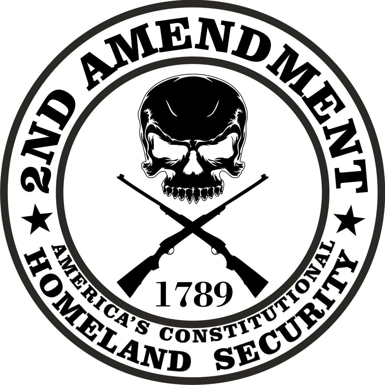 2nd Amendment sticker decal